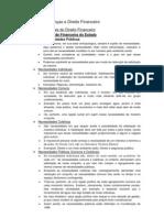 Ciência das Finanças e Direito Financeiro