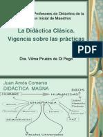 LA DIDACTICA CLÁSICA - Vigencia sobre las Prácticas