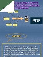 Diagrama de Causa y Efecto (Espina De