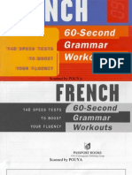 60 Second French Grammar Workout PDF