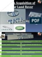 Tata JLR Acquisition
