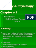 Anatomy and physiology Ppt by Dr. BBT