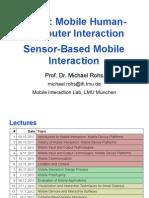 MMI2 12 Sensors