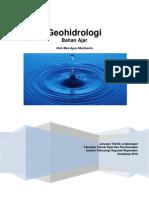 Buku Ajar Geohidro