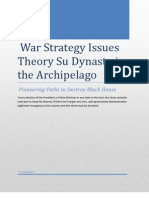 War Strategy Issues Theory Su Dynasty in the Archipelago