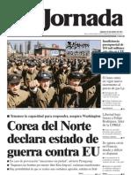Corea Del Norte Declara Estado de Guerra Contra EU