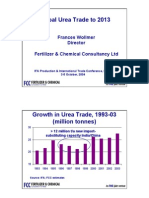 Global Urea Trade to 2013