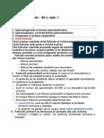 Subiecte examen – An I, sem. I