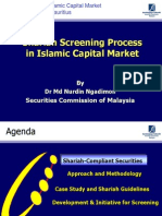 Shariah Screening Process in Islamic Capital Market Dr Md Nurdin Ngadimon