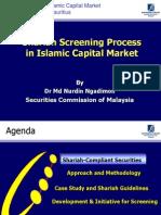 Shariah Screening Process in Islamic Capital Market Dr Md Nurdin Ngadimon