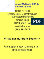 Multirate DSP