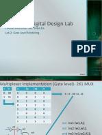 Adder at Gate Level Modeling