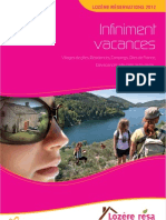 Brochure Lozere Reservation 2012
