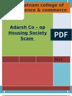Adarsh Housing Society Scam