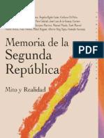 Memoria de la II República
