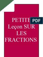 Lecon Sur Les Fractions