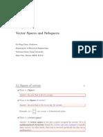 linear algebra course part 3