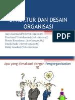 PPT Struktur dan Desain Organisasi