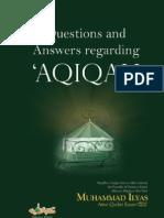 Questions and Answers regarding Aqiqah , Ameer Ahle Sunnat Allama Muhammad Ilyas Attar Qadri