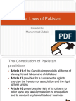 Labor Law of Pakistan