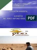 CONFERENCIA DE EDUCACIÓN  AMBIENTAL