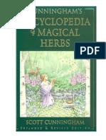 L Encyclopedie Des Herbes Magiques de Scott Cunningham