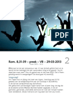 Rom. 8,31-39 – preek – VB – 29-03-2013 - web