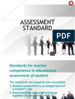 1. Assessment Standart by Cunningham