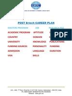 POST Btech Career Plan 3