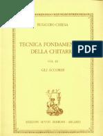CHIESA - Tecnica Fondamentale Della Chitarra VOL 3 - Gli Accordi