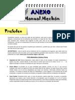 Profedex (Anexo manual mechón Medicina 2013)