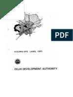 DELHI Building Bye Laws