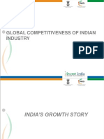 Global Competitiveness of Indian Industry