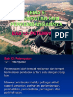BBM GEOGRAFI TINGKATAN 2-BAB 12 (PETEMPATAN)
