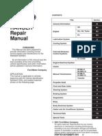 Repair Manual Toc