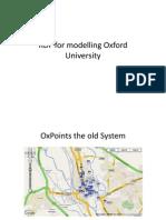 RDF Modeling for Oxford University