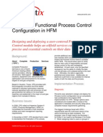 Creating a Functional Process Control Configuration in HFM