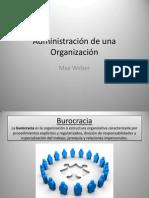 Administración de una Organización