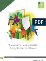 WiMAX Indoor Modem DX230