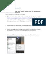 Cara Instalasi Java Development Kit
