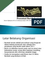 Presentation PO Barokah Wisata