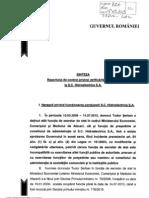 Raport Conprol PM La Hidroelectrica