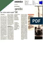 Diario Economico 13-03-2009 Crise Gestao