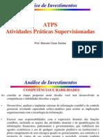 ATPS - Análise de Investimentos