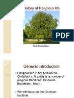 History of Religious Life