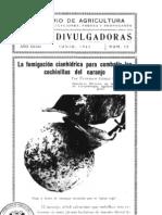 La fumigación cianhidrica para combatir las cochinillas del naranjo - Junio 1941.pdf