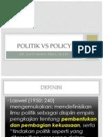 Politik Dan Kebijakan