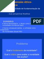 """FUNDAMENTAÇÃO DA MORAL (de acordo com manual """"Pensar Azul"""")"""