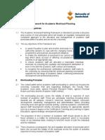 Framework for Academic Workload Planning