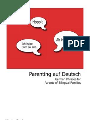 German Phrases Auf Deutsch v2 | Multilingualism